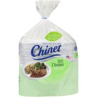 Chinet Dinner Plates, 165 ct