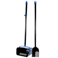 OUT! Dog Poop Scoop and Rake, for Easy Dog Waste Pickup