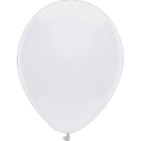 "Way To Celebrate 15 Ct. 12"" Plain White Balloons"