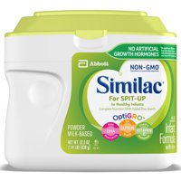 Similac For Spit-Up, Easy-to-Digest Infant Formula, Reduces Frequency of Spit-Up, Supports Brain & Eye Development, Non-GMO, Powder, 22.5-oz Tub