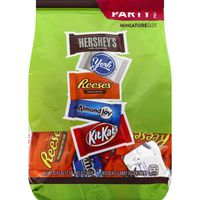 Hershey Chocolate Candy, Assortment, Snack Size, Party Pack