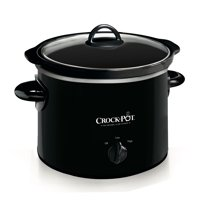 Crock-Pot® 2-Quart Round Manual Slow Cooker, Black
