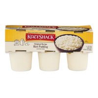 Kozy Shack, Rice Pudding Multi-pack, 4 Oz., 6 Count