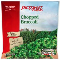 Pictsweet Farms® Recipe Helper Chopped Broccoli 10 oz. Stand Up Bag