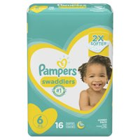 Pampers Swaddlers Diapers Size 6 16 Count
