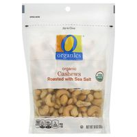 O Organics Roasted With Sea Salt Organic Cashews