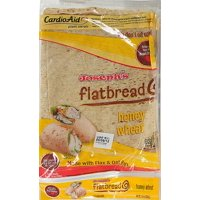 Joseph's Honey Wheat Flatbread, 5ct, 10 oz