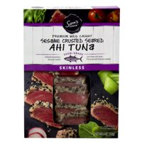 Sam's Choice Premium Wild Caught Sesame Crusted Seared Ahi Tuna, 4 oz