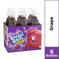 Kool-Aid Bursts Grape Ready-To-Drink Soft Drink, 6 ct - 6.75 fl oz Bottles