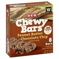 H-E-B Peanut Butter Chocolate Chip Chewy Bars