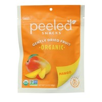 Peeled Organic Dried Mango Snacks - 2.8oz