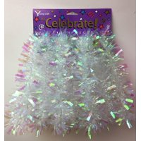 Celebrations Party Garland - Wide Cut Solid Iridescen