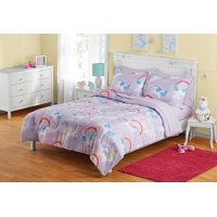 Your Zone Unicorn Bed in a Bag Bedding Set