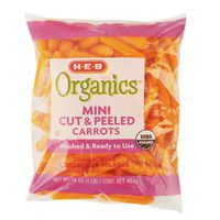 H-E-B Organic Mini Cut And Peeled Carrots