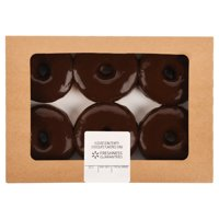 Freshness Guaranteed Donuts with Chocolate Icing, 6 Count