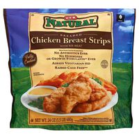 H-E-B Natural Chicken Breast Strips