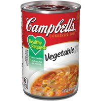 Campbell'sCondensedHealthy RequestVegetable Soup, 10.5 oz. Can