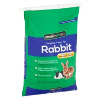 Small World Complete Feed for Rabbits, 25 lbs.