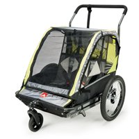 Allen Sports Deluxe 2-Child Bicycle Trailer & Stroller