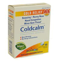 Boiron Coldcalm Homeopathic Medicine Cold Relief Quick Dissolving Tablets