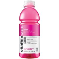vitaminwater focus electrolyte enhanced water w/ vitamins, kiwi-strawberry drink, 20 fl oz