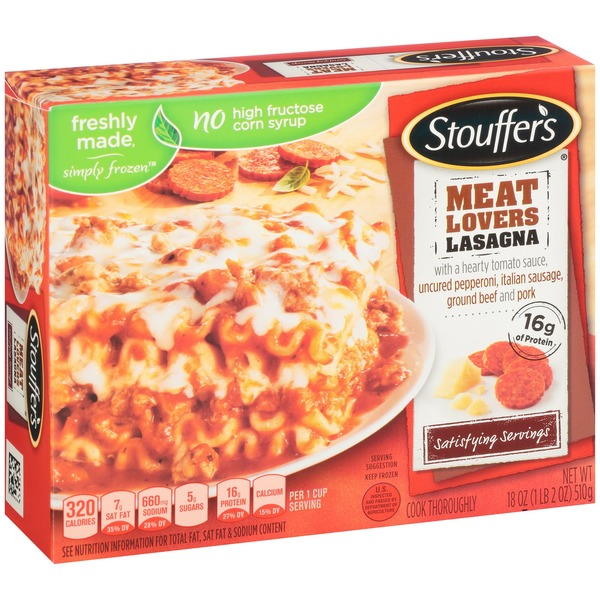 Stouffer's Large Size Meat Lovers Lasagna