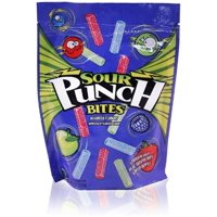 Sour Punch Bites Chewy Assorted Flavors Candies, 9 Oz.