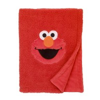 Sesame Street Toddler Bed Blanket Red