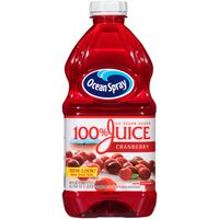 Ocean Spray 100% Cranberry Juice