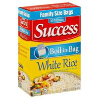 Success Family Size Boil-in-Bag Precooked White Rice