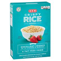 H-e-b Crispy Rice Cereal
