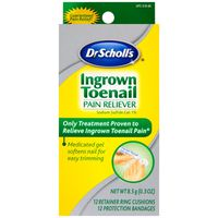 Dr. Scholl's Ingrown Toenail 1% Sodium Sulfide Medicated Gel  Pain Reliever