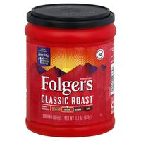 Folgers Ground Coffee Classic Roast Medium