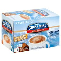 Swiss Miss Hot Cocoa K-Cup Pods Milk Chocolate