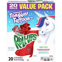 Fruit Snacks Fruit Roll-Ups Variety Snack Pack 20 Rolls
