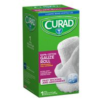 Curad 100% Cotton Gauze Roll