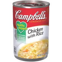 Campbell'sCondensedHealthy RequestChicken with Rice Soup, 10.5 oz. Can
