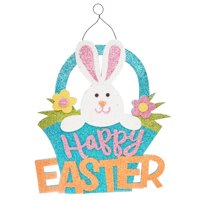 Way To Celebrate Easter Hanging Decor, Happy Easter