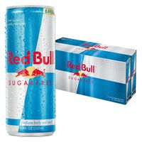 Red Bull Energy Drink, Sugarfree, 12 Pack