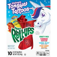 Fruit Roll-Ups Betty Crocker Fruit Snacks, , Variety Snack Pack