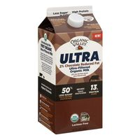 Organic Valley Ultra, Ultra-Filtered Organic 2% Milk, Chocolate