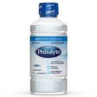 Pedialyte Electrolyte Solution, Hydration Drink, Unflavored, 1 Liter