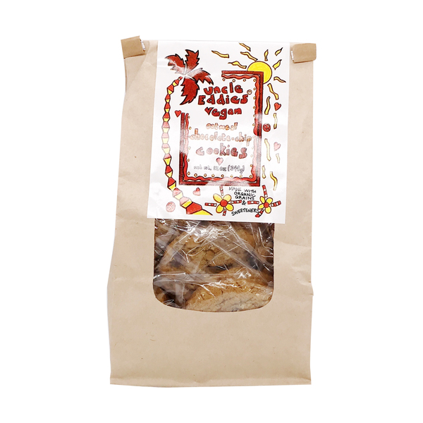 Uncle eddies vegan cookies Oatmeal Chocolate Chip Cookies, 12 oz