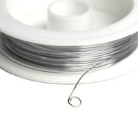 Cousin Silver Beading Wire, 24 Ft., 1 Each