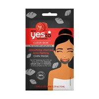 Yes To Tomatoes Detoxifying Charcoal Acne Fighting Chin Mask