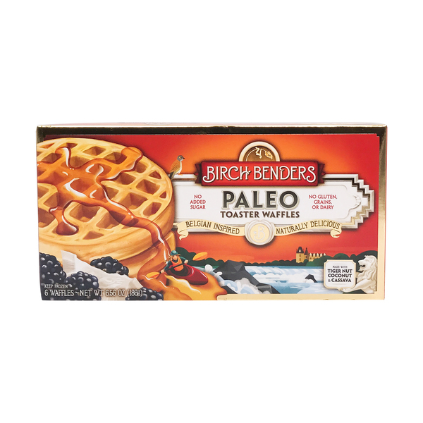 Birch benders griddle cakes Paleo Toaster Waffles 6ct, 6.56 oz