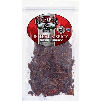 Old Trapper Hot & Spicy Beef Jerky - 10oz