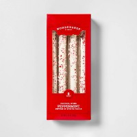 Peppermint Pretzel Rods Dipped in White Fudge - 8oz - Wondershop™