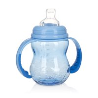 Nuby 3 Stage Grow with Me Bottle to Cup 8oz Blue