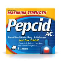 Pepcid Maximum Strength Ac Tablets